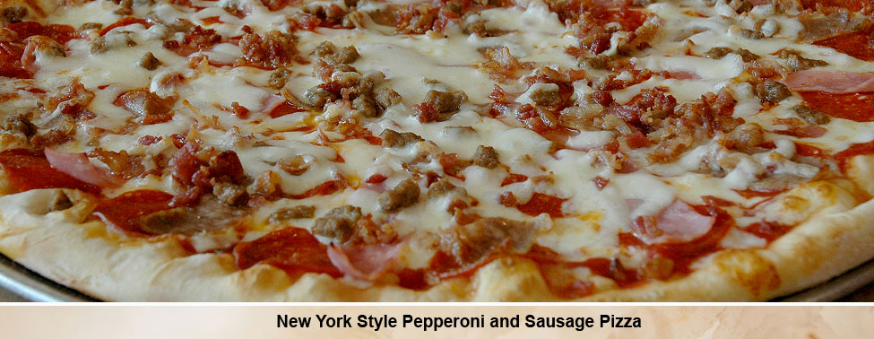 Pepperoni Sausage Pizza