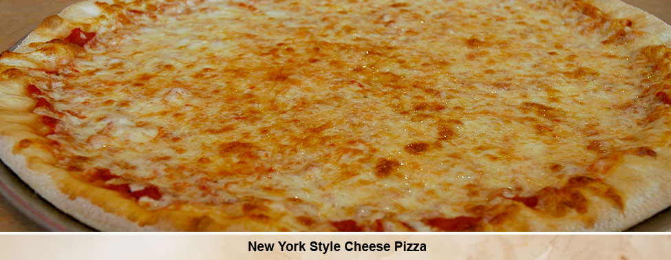 New York Style Cheese Pizza